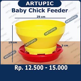 Efisiensi pakan Dengan Baby Chick Feeder