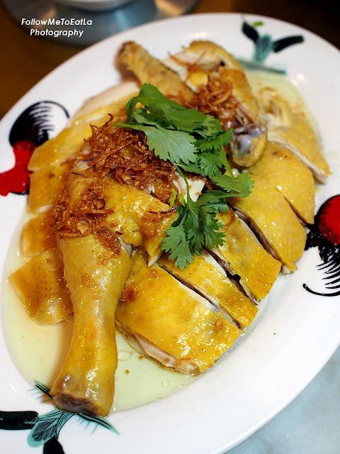 Poached Village Chicken  RM 68.90 (Half Bird)