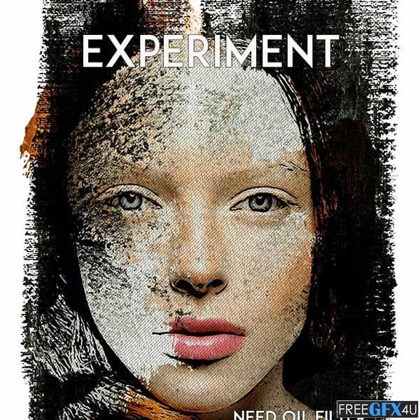 Experiment Photoshop Action