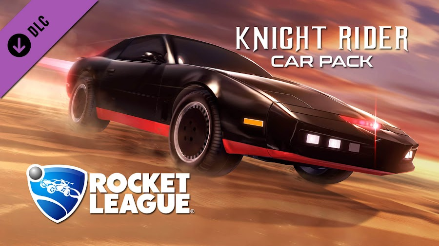 rocket league knight rider car pack dlc psyonix pc ps4 xb1
