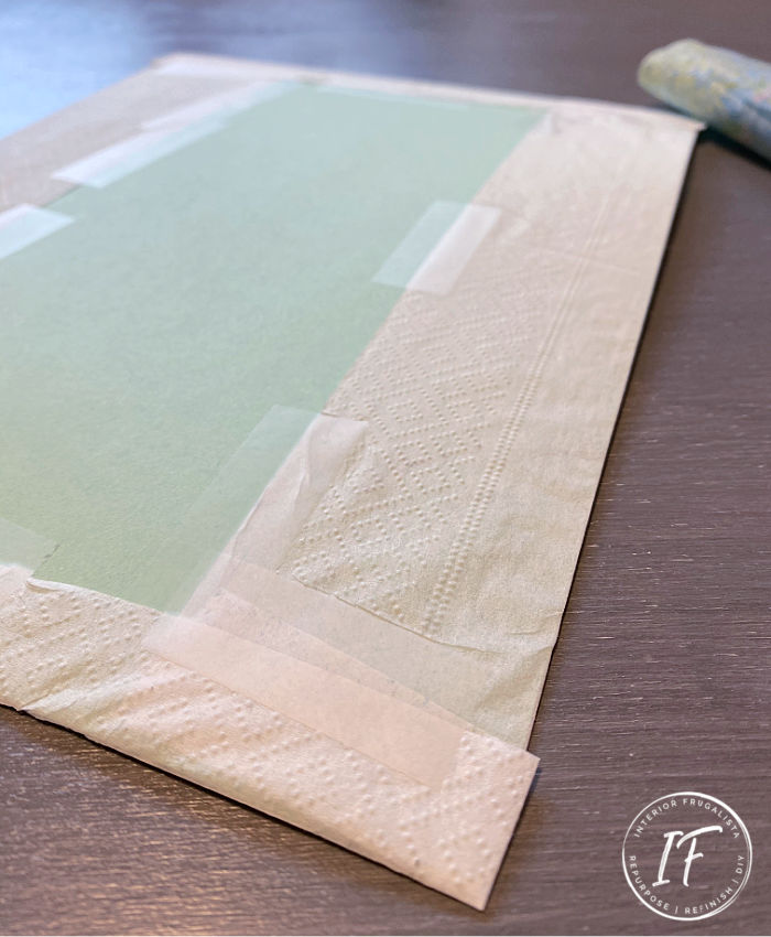 Napkin Printing Craft Tutorial