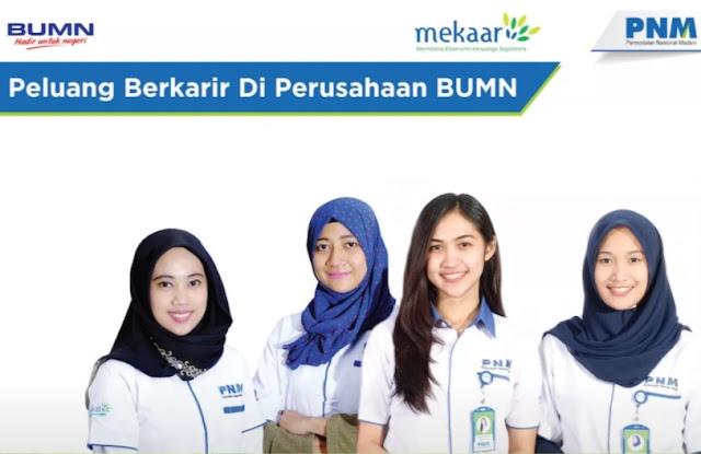 Lowongan Kerja SMA SMK D3 S1 PT. Permodalan Nasional Madani (PNM) Persero, Jobs: Account Officer.