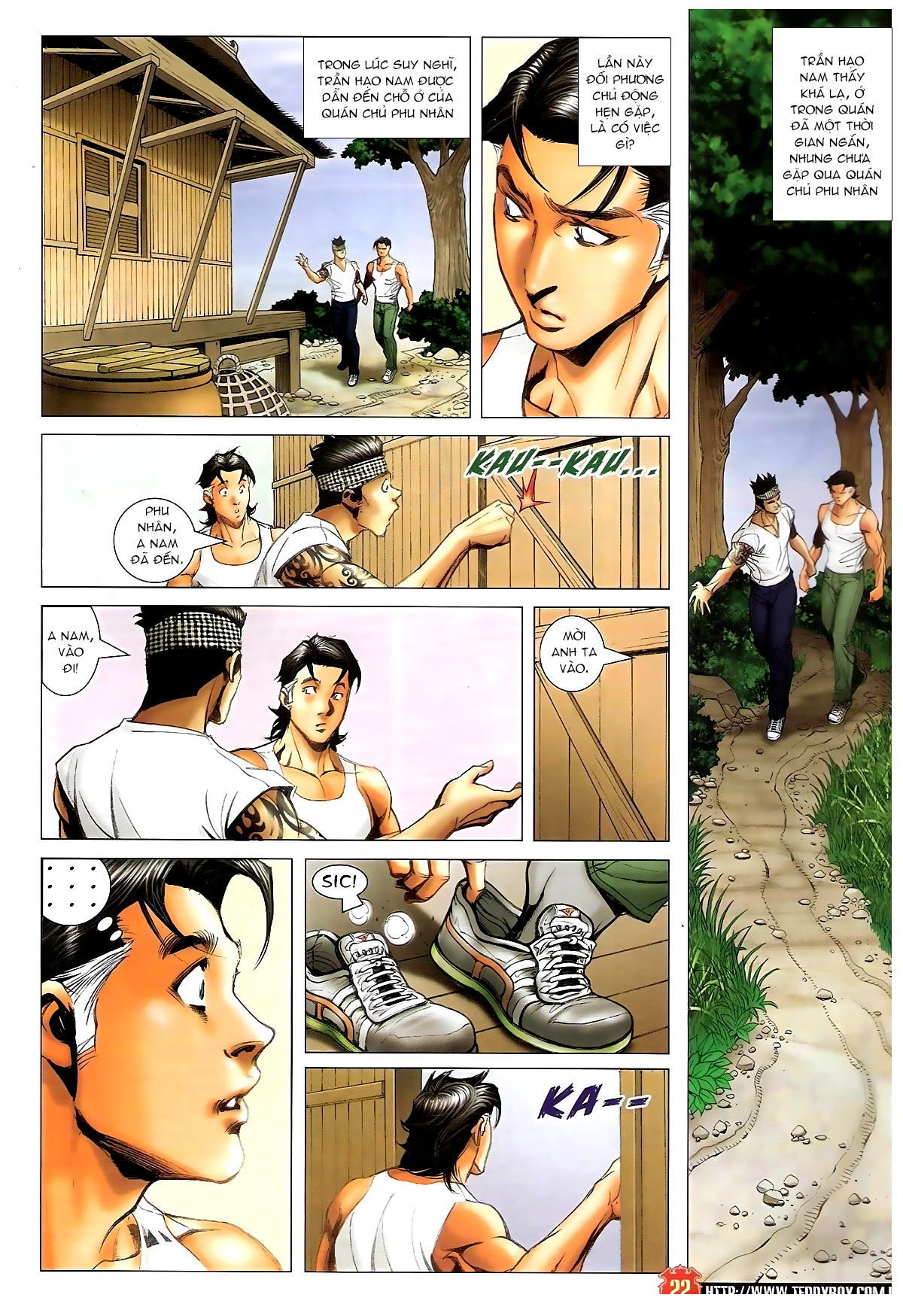 Người Trong Giang Hồ Chap 1396 - Truyen.Chap.VN