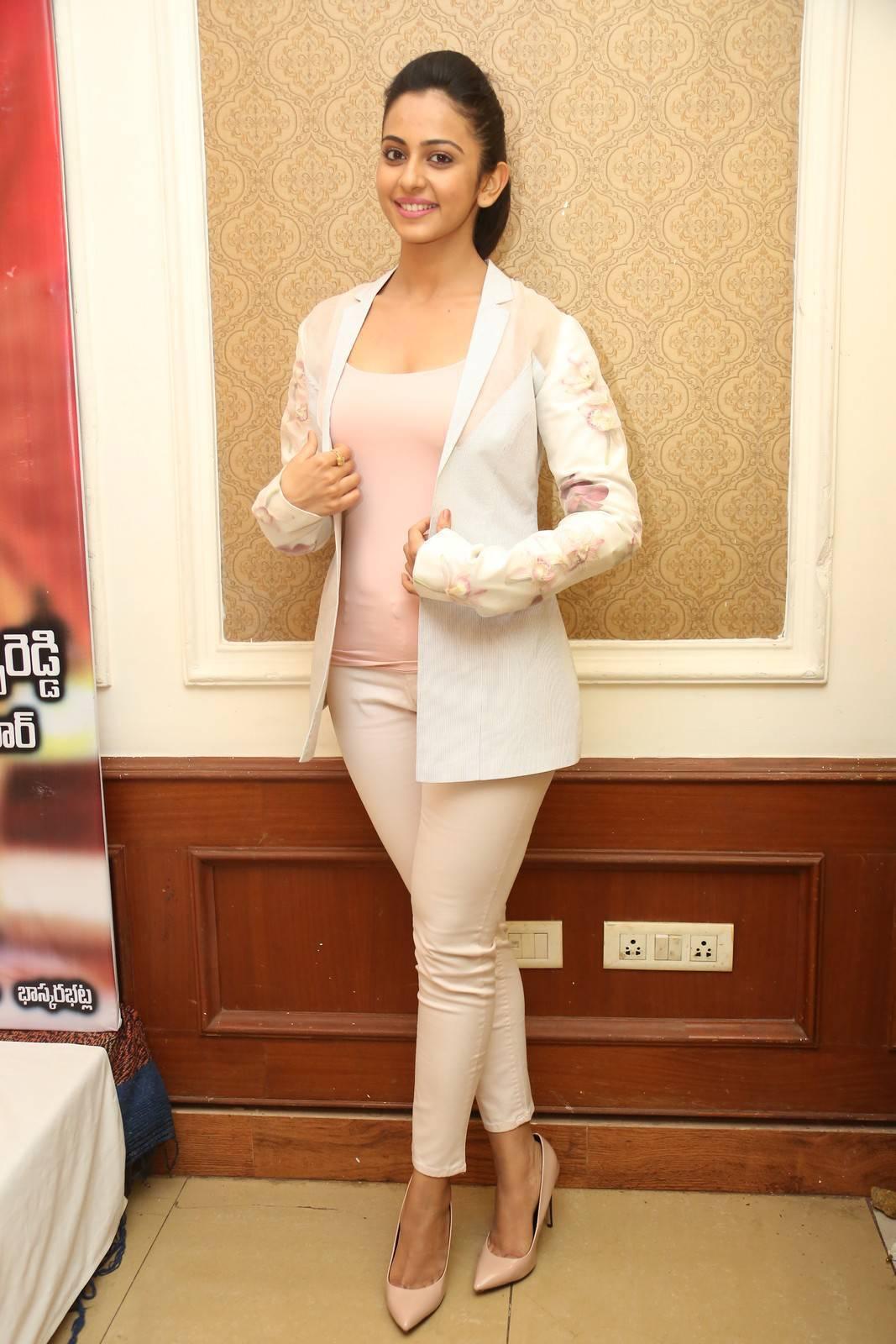Rakul Preet Singh Latest Stills In Pink Top
