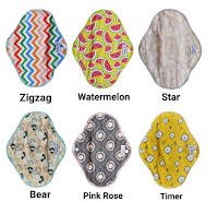 [SALE] Pembalut Wanita Reusable Baby-oz Menstrual Pad & Pantyliner | Menspad Pembalut Kain Cuci