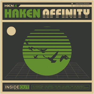 Haken - Affinity - cover album - 2016