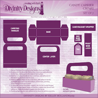 Divinity Designs Custom Candy Carrier Dies