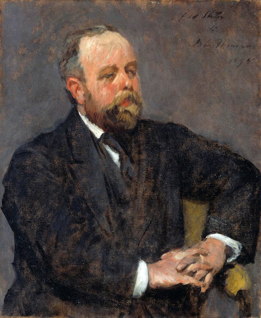 David Croal Thomson, Philip Wilson Steer, International Art Gallery, Self Portrait, Art Gallery, Wilson Steer, Portraits of Painters, Fine arts, Self-Portraits, Painter Philip Wilson Steer