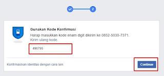 verifikasi lewat sms