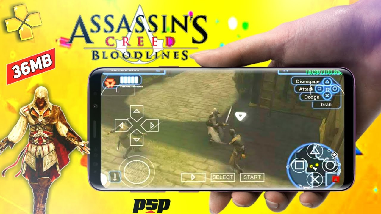 36mb Assassin S Creed Bloodlines Ppsspp Highly Compressed