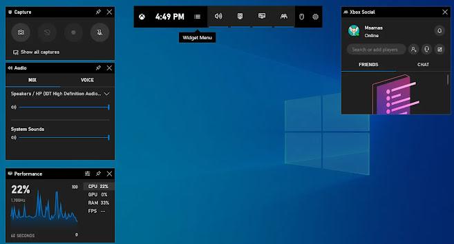 اظهار الفريمات اثناء اللعب فى ويندوز 10 بدون برامج