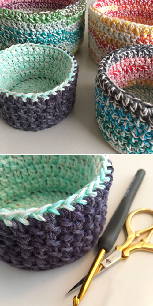 Double Double Baskets - Free Pattern