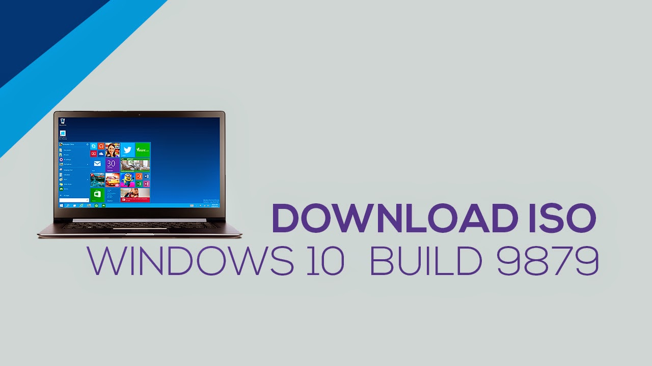 Download ISO Windows 10 BUILD 9879
