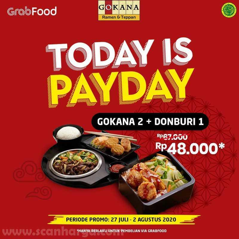 Promo Gokana Payday Periode 27 Juli - 2 Agustus 2020 4