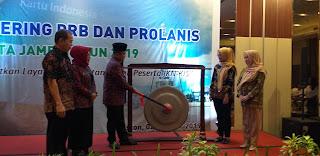 Wawako Jambi Membuka Secara Resmi Gathering PRB Dan Prolanis Se-Kota Jambi.