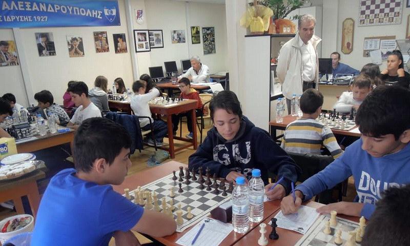 Νίκη για τον Εθνικό Αλεξανδρούπολης στην πρεμιέρα των προκριματικών του Πανελλήνιου Πρωταθλήματος Σκάκι Παίδων - Κορασίδων