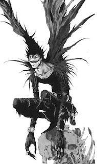 À la fin de Death Note, Ryuk n'a pas changé