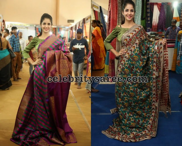 kashish-vohra-inauguarated-national-silk-expo1