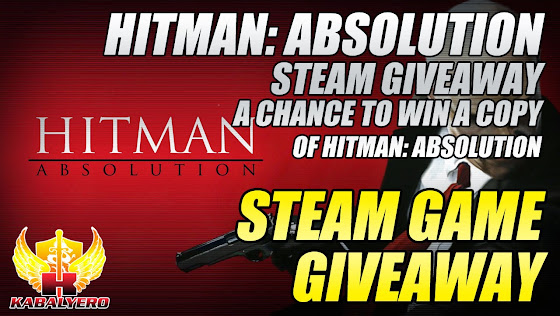 STEAM Game Giveaway, Hitman:Absolution STEAM Giveaway