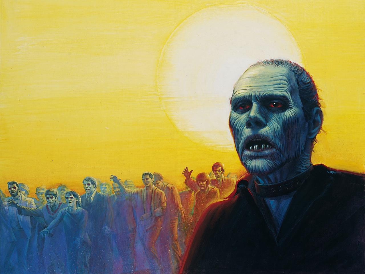 day of the dead, 1985, art, zombie wallpaper,
