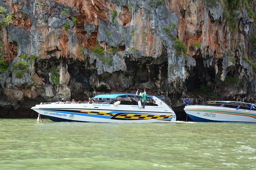 James Bond Island Phuket speed boat