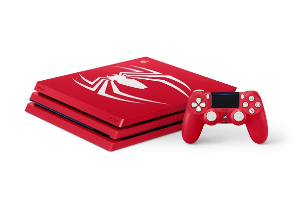 SONY reveals Marvel's Spider-Man - Limited Edition PS4 Pro Bundle