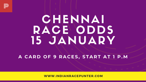 Chennai Race Tips 15 January,