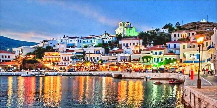 Andros, dove alloggiare nell'isola della Cicladi