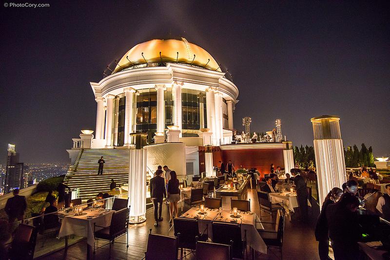 【曼谷自由行】曼谷超浪漫必去三間Sky Bar。一生一定要去一次