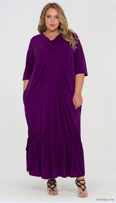 Vestidos Largos Fucsia