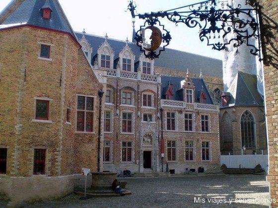 Palacio de los Gruuthuse, Brujas, Bélgica