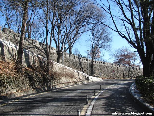 Парк Намсан зимой