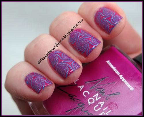 American Apparel ~ Neon Violet