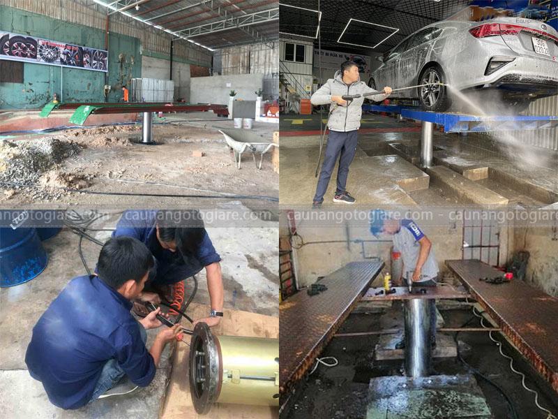 bảo quản cầu nâng 1 trụ, bảo quản cầu nâng rửa xe, bảo quản ty nâng của cầu nâng, bảo quản cầu 1 trụ rửa xe