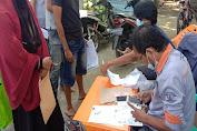 Penyaluran BST Di Desa Cibugel Kecamatan Cisoka Berlangsung Dengan Protokol Kesehatan Yang Ketat