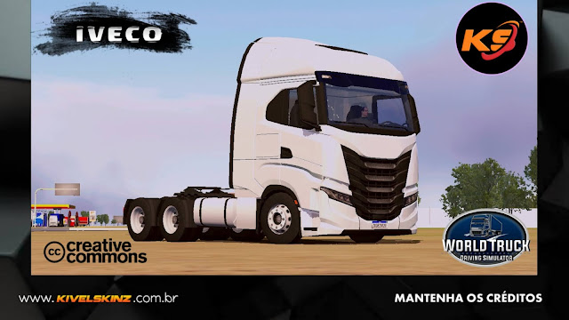 IVECO S-WAY - TEMPLATES BASES