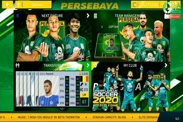 Download Game Android DLS 2020 Mod Persebaya 19/20
