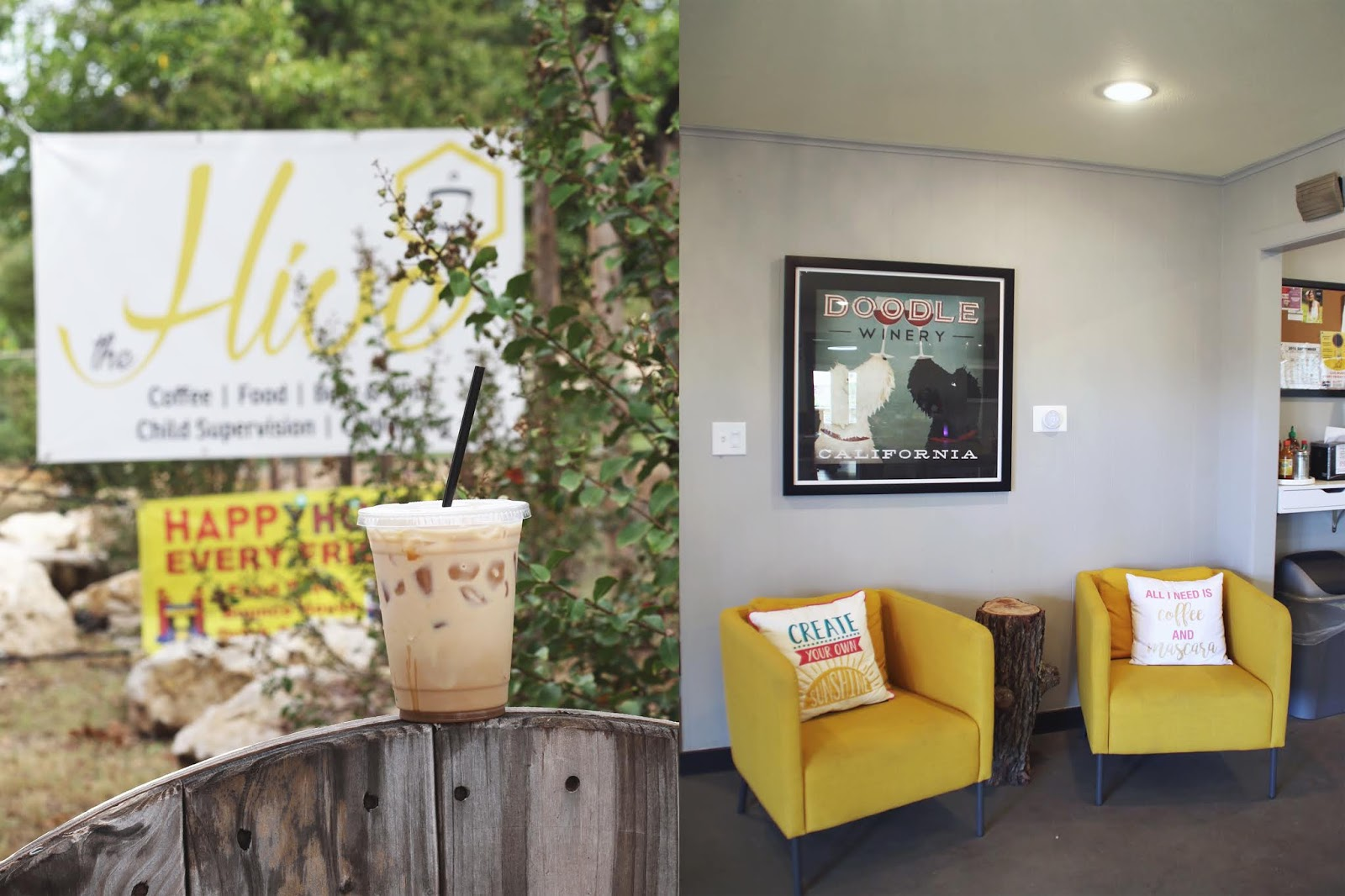 The Hive Austin, Iced Coffee, Cozy Coffee Shop, Coffee Shops Vibe