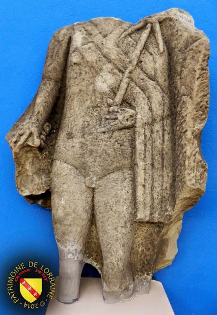NANCY (54) - Musée lorrain : Dieu Mercure - Abreschviller (57)