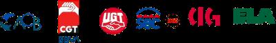 ACB - CGT - UGT - SEC - CIG - ELA