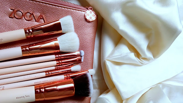 Zoeva Rose Gold Brush Set Ali Express