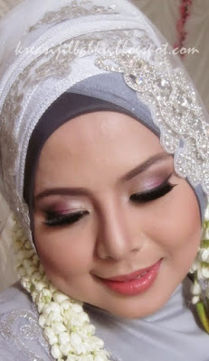 Make Up Pengantin Muslimah Natural
