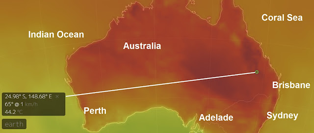 Eastern Australia to hit 40+ deg C (104F+) in the coming days  Untitled