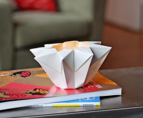 Make An Origami Star Lantern How About Orange