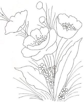 Desenhos De Arranjos De Flores