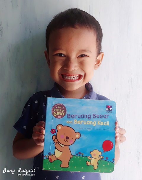 Buku Favorit Bang Rasyiid, Beruang Besar dan Beruang Kecil