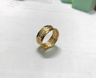 nhẫn kim tiền lông đuôi voi