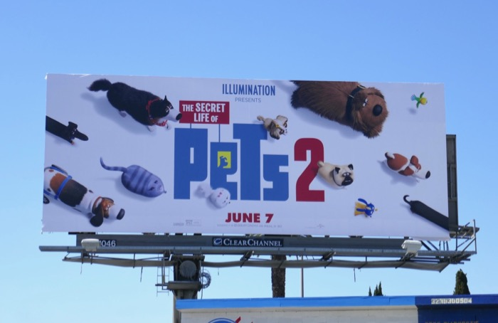 Secret Life of Pets 2 billboard
