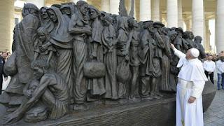Papa Francisco, Infancia Misionera, obras misionales pontificias, emigrantes, Sagrada Familia, refugiados,