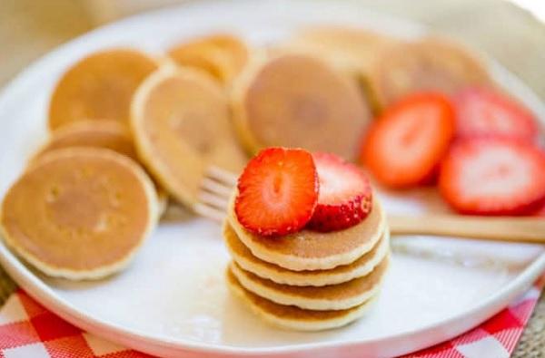 How mini pancake works